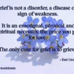 Grief is not a disorder