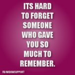 hard to forget someone